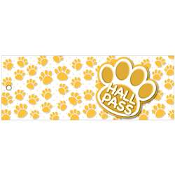Hall Pass Gold Paws Lrg 2 Sd Laminated Print 35X9, ASH10680