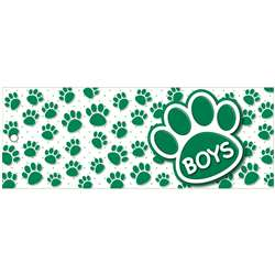 Boys Pass 9X35 Gr Paws 2 Sided Laminated, ASH10737