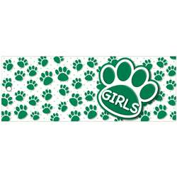 Girls Pass 9X35 Gr Paws 2 Sided Laminated, ASH10738