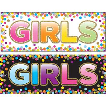Girls Pass Confetti Laminate 2 Side, ASH10747
