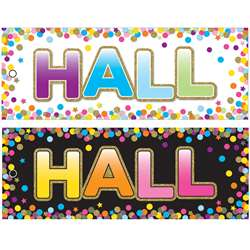 Hall Pass Confetti Laminated 2 Sided, ASH10749