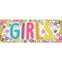 Laminated Donutfetti Girls Pass, ASH10763