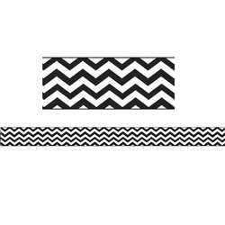 Magnetic Magi-Strips Black Chevron, ASH11014