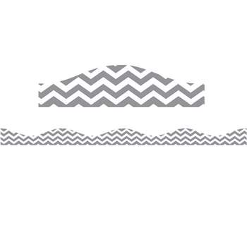 Big Magnetic Border Gray Chevron, ASH11115
