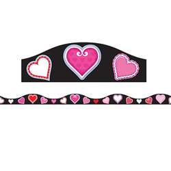 Magnetic Border Val Hearts 15 W Seasonal, ASH11141