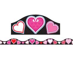 Magnetic Border Valentines Heart 1W Seasonal, ASH11419