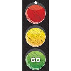 Traffic Light Card Stop Go 3X9 Laminated, ASH13000