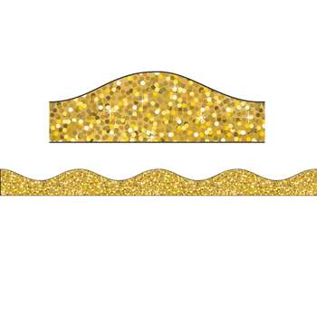 Big Magnetic Border Gold Sparkle, ASH30200
