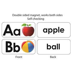 Abc Picture Words Double Sided Magnets, ASH40006