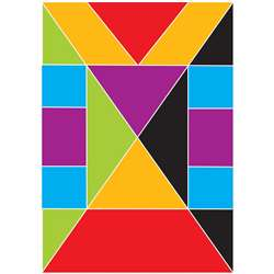 Foam Math Manipulatives Tangrams Fractions, ASH40014