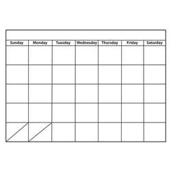 Big Monthly Calendar Large Magnetic Chart, ASH70001