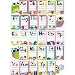 Abc Pictures Magnetic Mini Bulletin Board Set, ASH77006