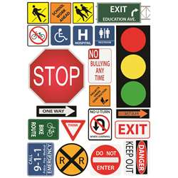 Safety/Class Sign Magnetic Mini Bulletin Board Set, ASH77007