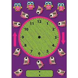 Telling Time Magnetic Mini Bulletin Board Set, ASH77008