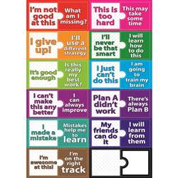Growth Mindset Magnetic Mini Bulletin Board Set, ASH77010