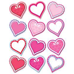 Diecut Magnets Valentine Hearts, ASH77814