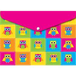 6 Pack Folder with Snap 95X13 Owls, ASH90602