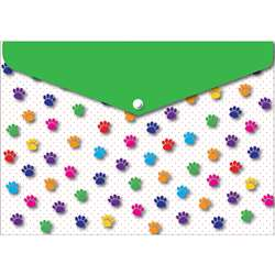 6 Pack Folder with Snap 95X13 Paws Colorful, ASH90604
