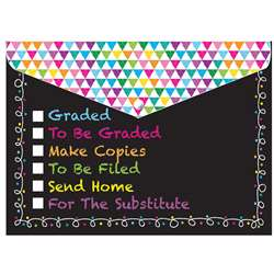 6 Pack Folder with Snap Classroom Tasks Organizer, ASH90607