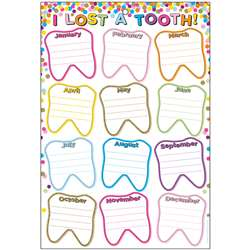 Smart Confetti Lost Tooth Dry-Erase Surface, ASH91060