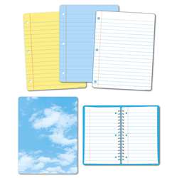 5Pk Big Notebook Paper Class Charts Smart Poly, ASH91201
