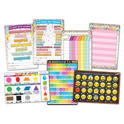 7Pk French Immersion Class Charts Smart Poly, ASH91203