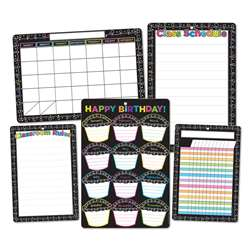 5Pk Chalk Dots with Loops Class Chrts Smart Poly, ASH91207