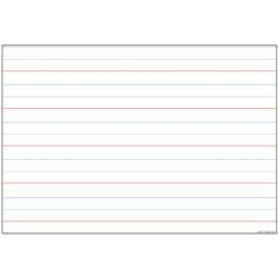 10 Pack Smart Poly Handwriting Charts Dry-Erase Su, ASH91803