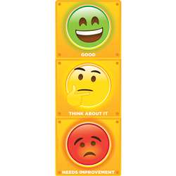 Clip Chart Stop Light Emoji Psitive Behavior Dry-E, ASH91952