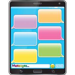 Cell Phone Emoji 17X22 Smart Chart Poly Chart, ASH92009