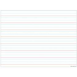 Handwriting 3/4 Lined 17X22 Smart Poly Chart, ASH92010