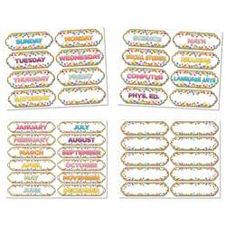 4 Pack Confetti Magnetic Timesavers, ASH94902