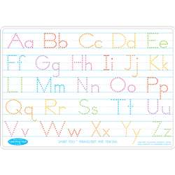 Manuscrpt Writing Learn Mat 2 Sided Write On Wipe , ASH95012