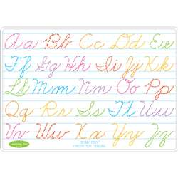 Cursive Writing Learn Mat 2 Sided Write On Wipe Of, ASH95013