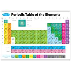 Periodic Table Learni Mat 2 Sided Write On Wipe Of, ASH95015
