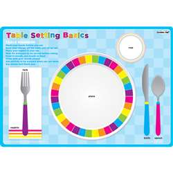 Place Setting Table Postermat Pals Smart Poly Sing, ASH95203