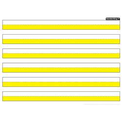 "1"" Handwrit Hghlighted Yellow Postermat Pals Smar, ASH95314"