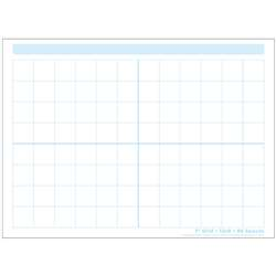 "1"" Grid Blocks Postermat Pals Smart Poly Single S, ASH95319"