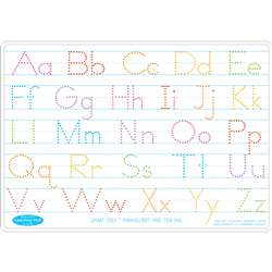 10Pk Manuscript Writing Mat 2 Side Write On Wipe O, ASH95612