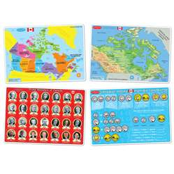 4Pk Canadian Education Learnng Mats Smart Poly, ASH95803