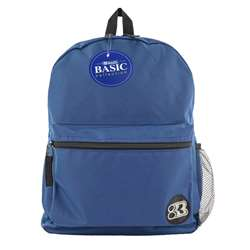 "16"" Blue Basic Collection Backpk, BAZ1031"