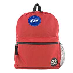 "16"" Red Basic Collection Backpk, BAZ1032"