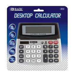 Bazic Desktop Calculator, BAZ3012