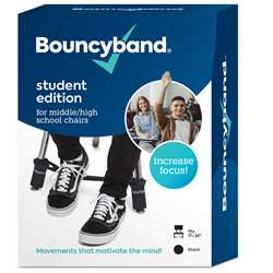 Bouncybands Middle/High School Blck, BBACMBK