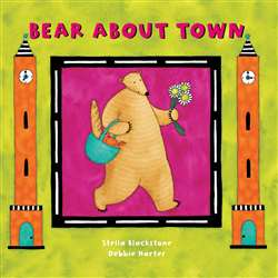 Bear About Town Board Book, BBK9781841483733