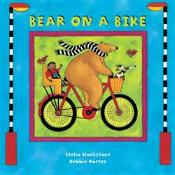 Bear On A Bike Board Book, BBK9781841483757