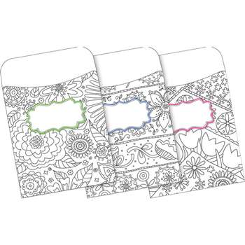 "Peel And Stick Pocket Color Me "" My Garden Multid, BCP1243"