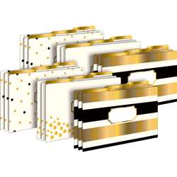 24K Gold Legal File Folders 2 Pack 18 Total Folder, BCP3520