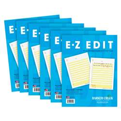 6 Pack Ez Edit Tablet, BCP550206
