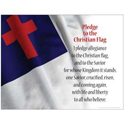 Pledge To The Christian Flag Chart By Barker Creek Lasting Lessons